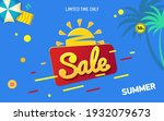 bright sale banner template... | Shutterstock .eps vector #1932079673