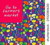 go to farmers market....   Shutterstock .eps vector #1932080630