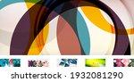 set of trendy minimalist...   Shutterstock .eps vector #1932081290