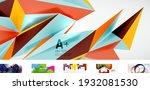 set of trendy minimalist...   Shutterstock .eps vector #1932081530