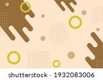abstract flat colorful...   Shutterstock .eps vector #1932083006