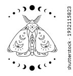 Boho Mystical Butterfly Woth...