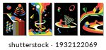 psychedelic space illustration...   Shutterstock .eps vector #1932122069