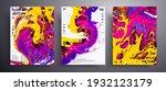 abstract acrylic banner  fluid... | Shutterstock .eps vector #1932123179