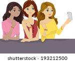 illustration of girlfriends...