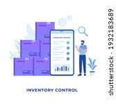 inventory control illustration...