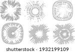 big data futuristic design .... | Shutterstock .eps vector #1932199109