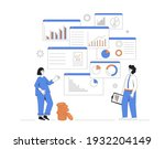 business analyst concept.... | Shutterstock .eps vector #1932204149