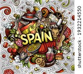 spain hand drawn cartoon doodle ...   Shutterstock .eps vector #1932214550