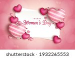 8th march womens day...   Shutterstock . vector #1932265553