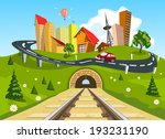 Railroad Tracks Through...
