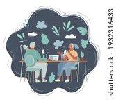 cartoon vector illustration of... | Shutterstock .eps vector #1932316433