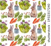 colorful easter seamless... | Shutterstock . vector #1932317240