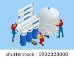 isometric installing or...   Shutterstock .eps vector #1932323000