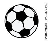 Soccer Ball Icon  Vector...