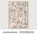 minimal and abstract continuous ...   Shutterstock .eps vector #1932382010