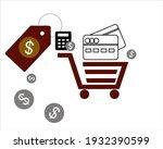 ecomerse vector illustration... | Shutterstock .eps vector #1932390599