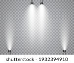 vector spotlights. scene. light ... | Shutterstock .eps vector #1932394910