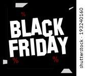 black friday | Shutterstock . vector #193240160