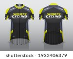 jersey design for cycling ... | Shutterstock .eps vector #1932406379