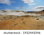 Valley Of Geysers In Volcanic...
