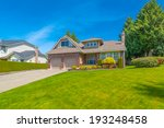 custom built luxury house with... | Shutterstock . vector #193248458