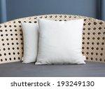 pillow decorated | Shutterstock . vector #193249130