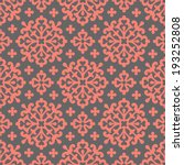 circle seamless floral pattern   Shutterstock .eps vector #193252808