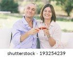 mature couple having an... | Shutterstock . vector #193254239