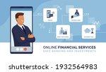online financial advisor and... | Shutterstock .eps vector #1932564983