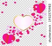 vector illustration of a folded ... | Shutterstock .eps vector #1932570983