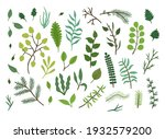 bright green and blue sketch... | Shutterstock .eps vector #1932579200