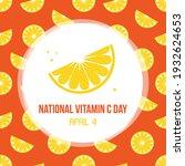 national vitamin c day card ...   Shutterstock .eps vector #1932624653