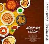 moroccan cuisine restaurant... | Shutterstock .eps vector #1932642179