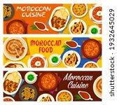 moroccan cuisine restaurant...   Shutterstock .eps vector #1932645029