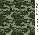 green army camouflage texture  ... | Shutterstock .eps vector #1932655583