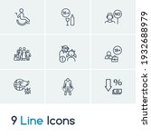service icon set and refugees...