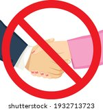 red forbidden sign. male and... | Shutterstock .eps vector #1932713723