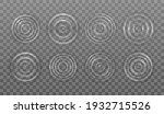 ripple splash of water waves on ... | Shutterstock .eps vector #1932715526