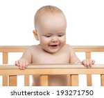 Infant Child Baby Boy In Woode...