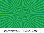 vibrant green sunburst pattern... | Shutterstock .eps vector #1932725510