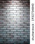 Brick Wall With Spotlight ...