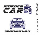 modern car logo vector... | Shutterstock .eps vector #1932745646
