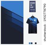 soccer jersey pattern design.... | Shutterstock .eps vector #1932778790