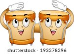mascot illustration of a pair... | Shutterstock .eps vector #193278296