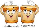 mascot illustration of a pair... | Shutterstock .eps vector #193278296