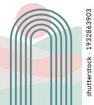 modern aesthetic background... | Shutterstock .eps vector #1932863903