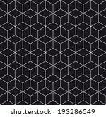 pattern cube background    Shutterstock .eps vector #193286549