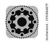 framework icon. gear vector... | Shutterstock .eps vector #1932866879