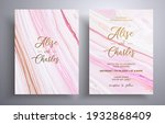 modern collection of wedding...   Shutterstock .eps vector #1932868409